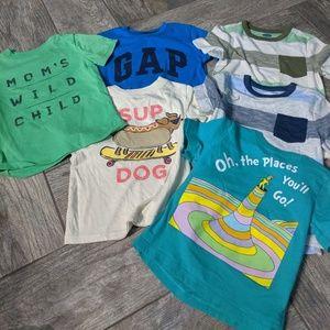 Lot of toddler shirts